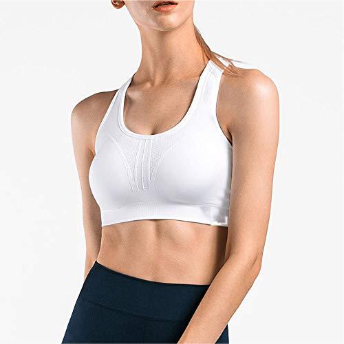 ZR Frauen-Icon-Serie - Ballerina-Sport-BH (S-XL) (Farbe : Weiß, Size : S) Zr-serie