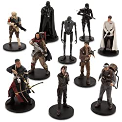 Disney Star Wars Rogue One Ensemble de figures de personnages de 10 pièces