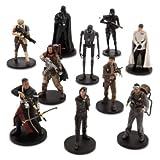 Disney Star Wars Rogue One 10 piezas Juego de personajes