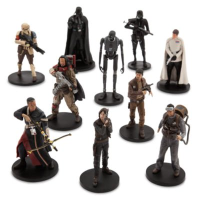 Disney Rogue One: A Star Wars Story Deluxe Figurine Set