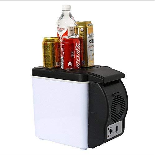 DULPLAY 6L Nevera Coche,Portátil Mini Nevera, Casa Pequeño Electrónico Refrigerador Al Aire...