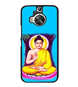printtech Lord Buddha Back Case Cover for HTC One M9+