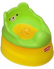 LuvLap Baby Potty Training seat - Yellow & Green