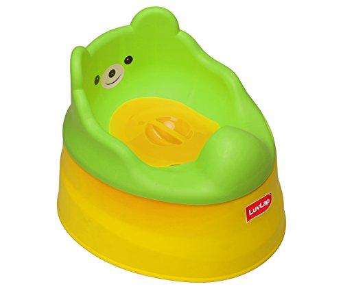 Luvlap Baby Potty Training Seat (Yellow/Green)