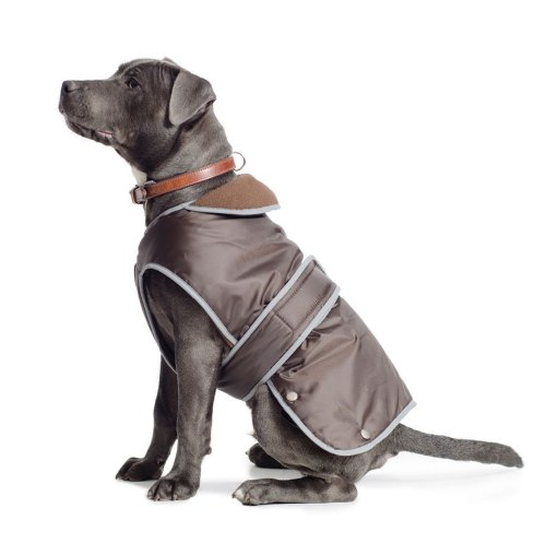 Ancol Muddy Paws Coat and Chest Protector, Chocolate, Large