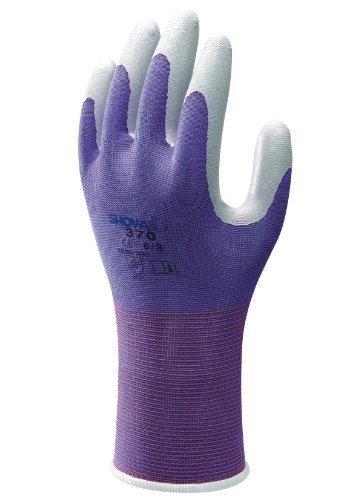 Lila Extra Kleine Größe 5waschbar Garten-Handschuhe–Showa Floreo 370