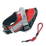 Hunde Brustgurt Traktions Seil Labrador Walk Hunde Seil Explosionssicheren Kleinen Mittelgroßen Hund (rot) (größe : M)