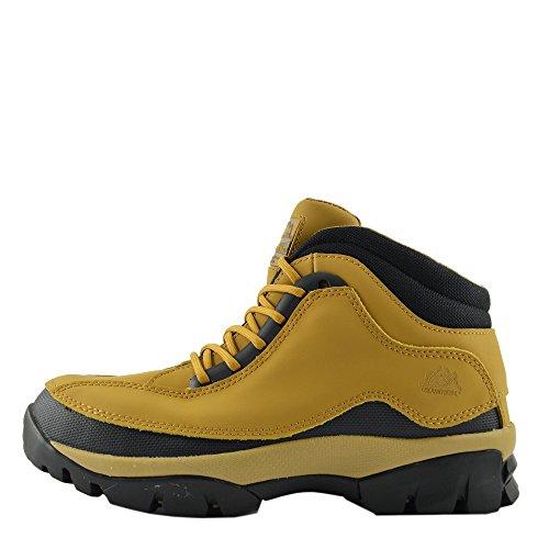 Kick Footwear - Herren Komfort Arbeit Sicherheit Stiefel Stahl Toe Cap Wasserdichtes Fundament - UK 13 / EU 47, Honig (Stahl-toe-stiefel-13)
