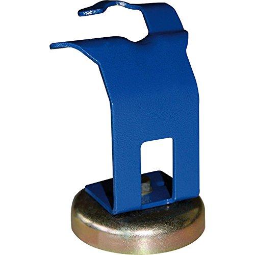 MIG Brennerhalter Schweißbrenner Brennerhalterung Halter mit Magnetfuß blau