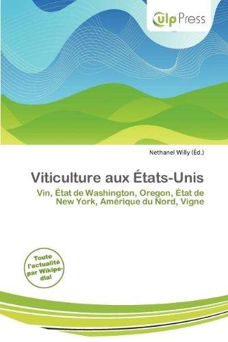 Viticulture Aux Tats-Unis