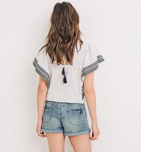 Promod Short en jean Femme Jean clair