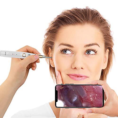 Cucharas inalámbricas oído visible uso hogar,limpiador