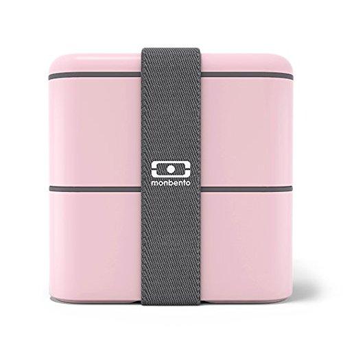 Monbento Square Bento Box, quadratische Lunchbox, Litchi - 2