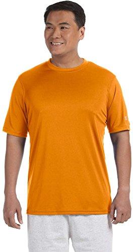 Stag Party, Brown auf American Apparel Fine Jersey Shirt Orange - Safety Orange