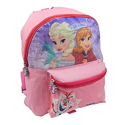 Disney Frozen - Mochila Infantil con Efectos de Purpurina, diseño de Anna y Elsa de Frozen