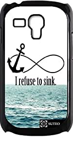 Coque pour Samsung Galaxy S3 mini - I refuse to sink Waves - ref 926