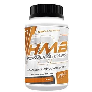 Trec Nutrition HMB Formula Caps Aminosäure L-Leucin unterstützt den Aufbau fettfreier Muskelmasse Training Bodybuilding 180 Kapseln