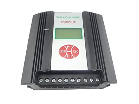 MISOL Hybrid Solar Wind Charge Controller 600W 48VDC/ wind charge controller / wind regulator / solar regulator/wind turbine/Contrôleur de charge solaire hybride Vent / charge de vent régulateur contrôleur / éolienne / régulateur solaire / éolienne