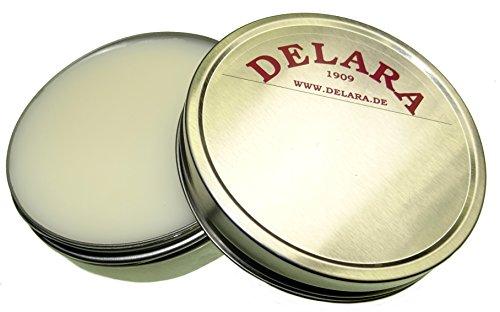 DELARA Natürlicher Pfotenbalsam für Hunde und Katzen, hochwertige Pfotenschutz-Creme in DAB-Qualität zur wirksamen Pflege empfindlicher und rissiger Pfoten - Made in Germany