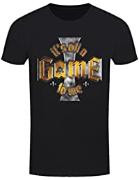 T-Shirt It's All A Game To Me Homme Noir