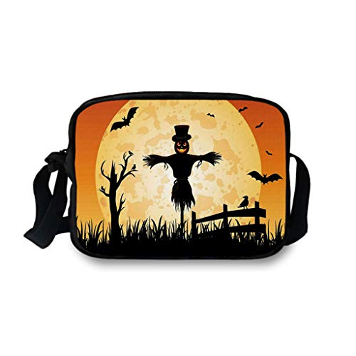 Riñoneras Portatil Estampada Halloween Unisexo TOPKEAL