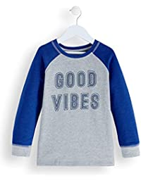 RED WAGON Jungen Sweatshirt Good Vibes Sweater