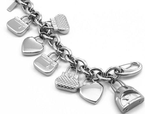 Moschino - 7753350195 - Montre Femme - Quartz Analogique - Cadran Argent - Bracelet Métal Argent
