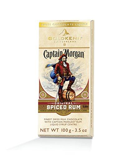 Captain Morgan Spiced Rum Likör Schweizer Schokolade 100g (1) (Captain Jack Morgan)
