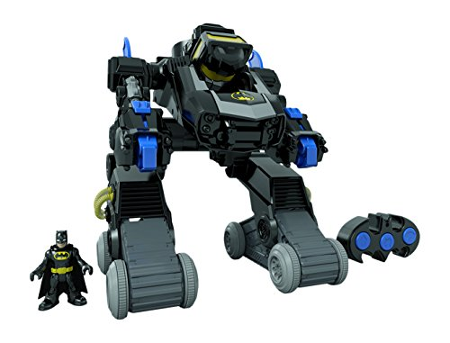 Fisher Price - Dmt82 - Imaginext - Robot Transformable-Bat