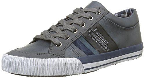 KaporalBeart - Sneaker Uomo , Grigio (grigio), 42