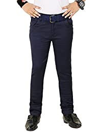 Boys Cotton Blue Jeans By Clench