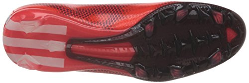 adidas F30 Fg, Chaussures de Football Homme Rouge