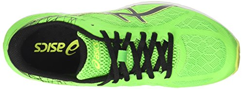 Asics Gel-Ds Racer 11, Scarpe da Ginnastica Uomo Verde (Green Gecko/Black/Safety Yellow)