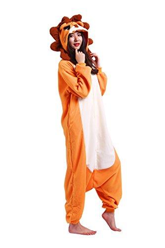 Imagen de magicmode unisex de dibujos animados de cosplay pijamas anime animales disfraces de adultos sudadera con capucha enterizo kigurumi pijamas león xl alternativa