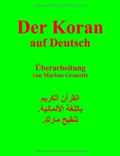 Der Koran auf Deutsch: Gott ist Alles