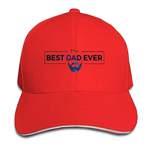 Xukmefat Best Dad Ever Unisex Snapbacks Cap Baseball Caps Vintage Trucker Hats XFG5095