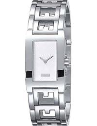 Esprit Damen-Armbanduhr Analog Quarz Edelstahl ES102242005