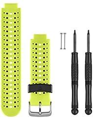 Garmin Wechselarmband Forerunner 230/235/630 - gelb/schwarz, Regular