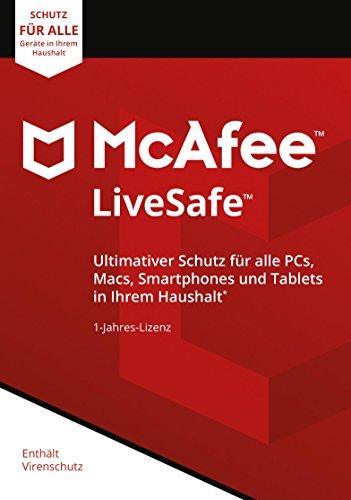 McAfee LiveSafe 2018 | unbegrenzte Anzahl an Geräten
