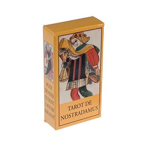 Jeu de 78 cartes : Tarot de Nostradamus