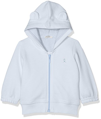 United Colors of Benetton United Colors of Benetton Baby - Jungen Jacket W/Hood L/S Kapuzenpullover, per Pack Blau (Heather 081), 56 (Herstellergröße: 56)