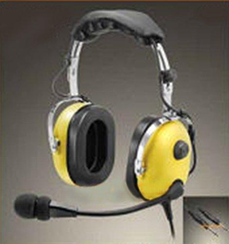 Passive Aviation Headset (Luftfahrt-Headset, passive Schalltämpfung 23 dB)