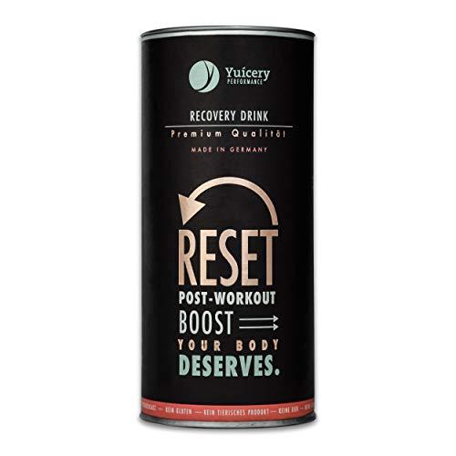 Yuicery Reset Regeneration für Körper und Muskeln mit Kreatin und Aminosäuren Post Workout Shake