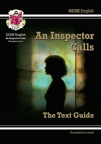 GCSE English Text Guide - An Inspector Calls Foundation Cover Image