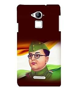 printtech Netaji Subhash Chandra Bose Indian Back Case Cover for Coolpad Note 3 Lite Dual SIM with dual-SIM card slots