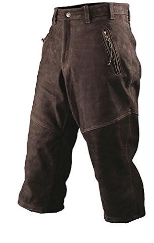Pantalon de chasse Knicker en cuir de Buffle Somlys 678