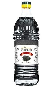 Avyukta Sesame Oil(Black Sesame), 1Ltr