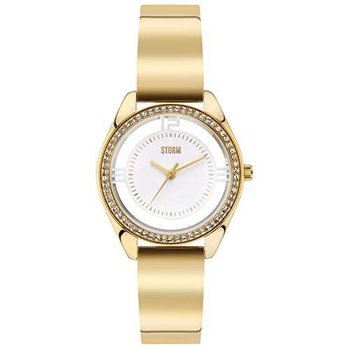 Ladies STORM Mini Pizaz Watch MINI-PIZAZ-GOLD