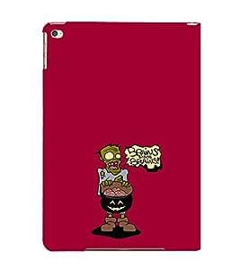 EPICCASE Zombie needs brains Mobile Back Case Cover For Apple Ipad 6 (Designer Case)