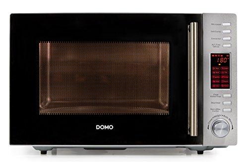 Domo DO 2330 CG Mikrowelle / Kombi 3-in-1 900 W Grill 1100 W Konvektion 2500 W / silber / schwarz